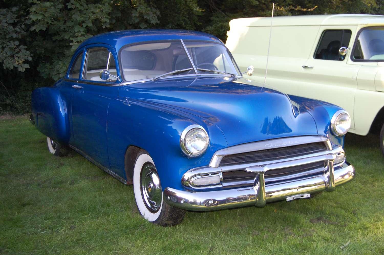 1951 Chevrolet Chevy 150 2 Door Coupe For Sale Deluxe