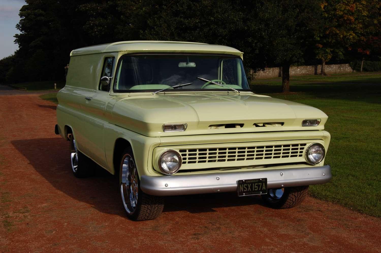 1963 Chevrolet Chevy C 10 Panel Van Truck For Sale