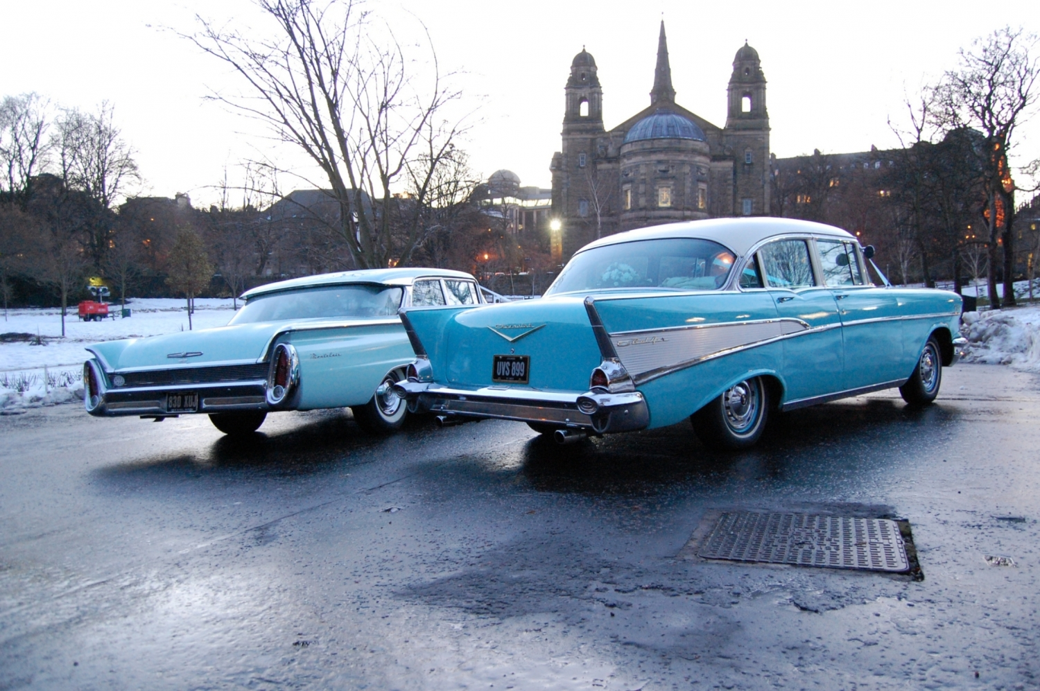 1957 Chevrolet Chevy Bel Air Wedding Car For Hire