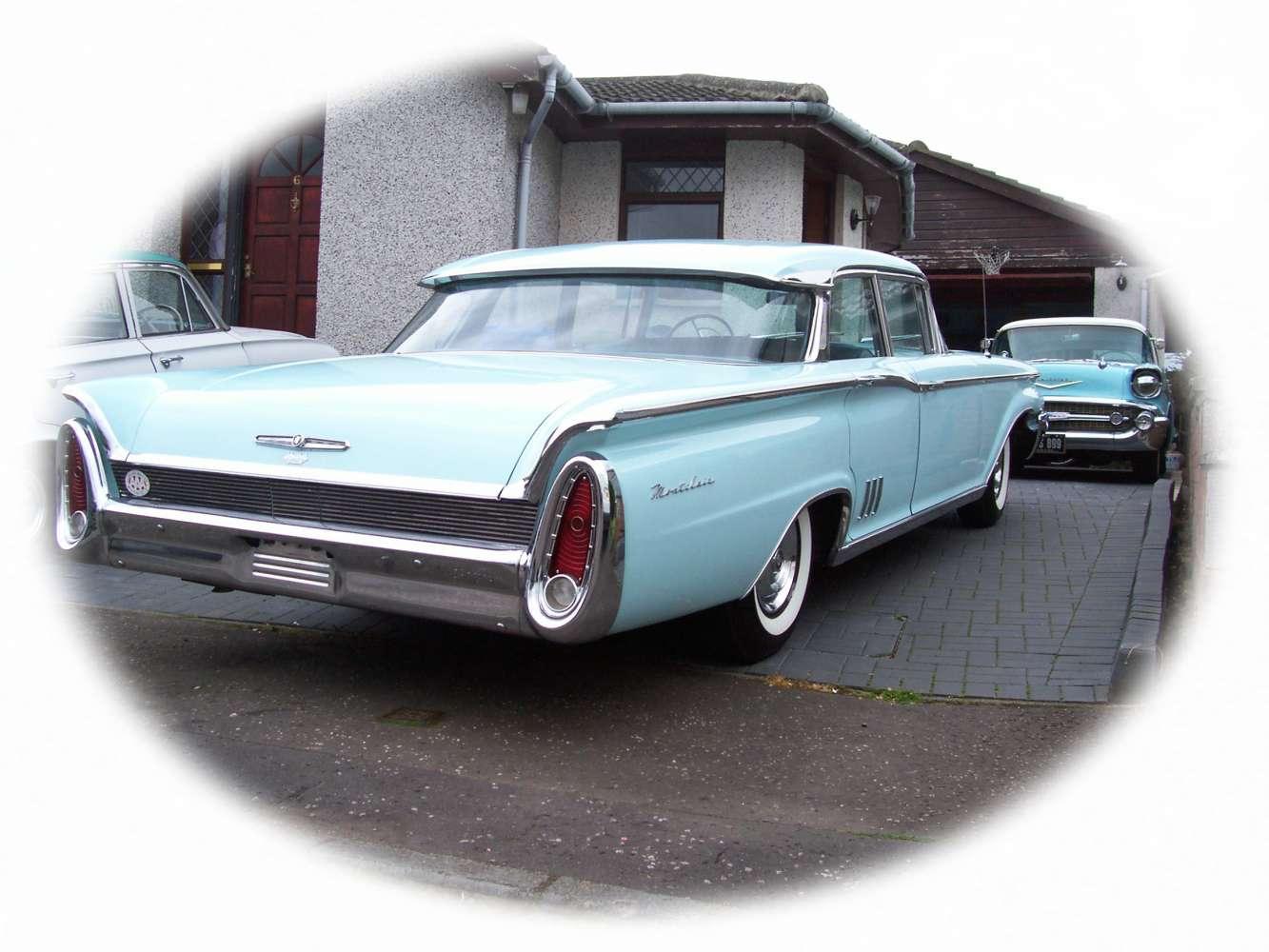 1960 Mercury Montclair sedan