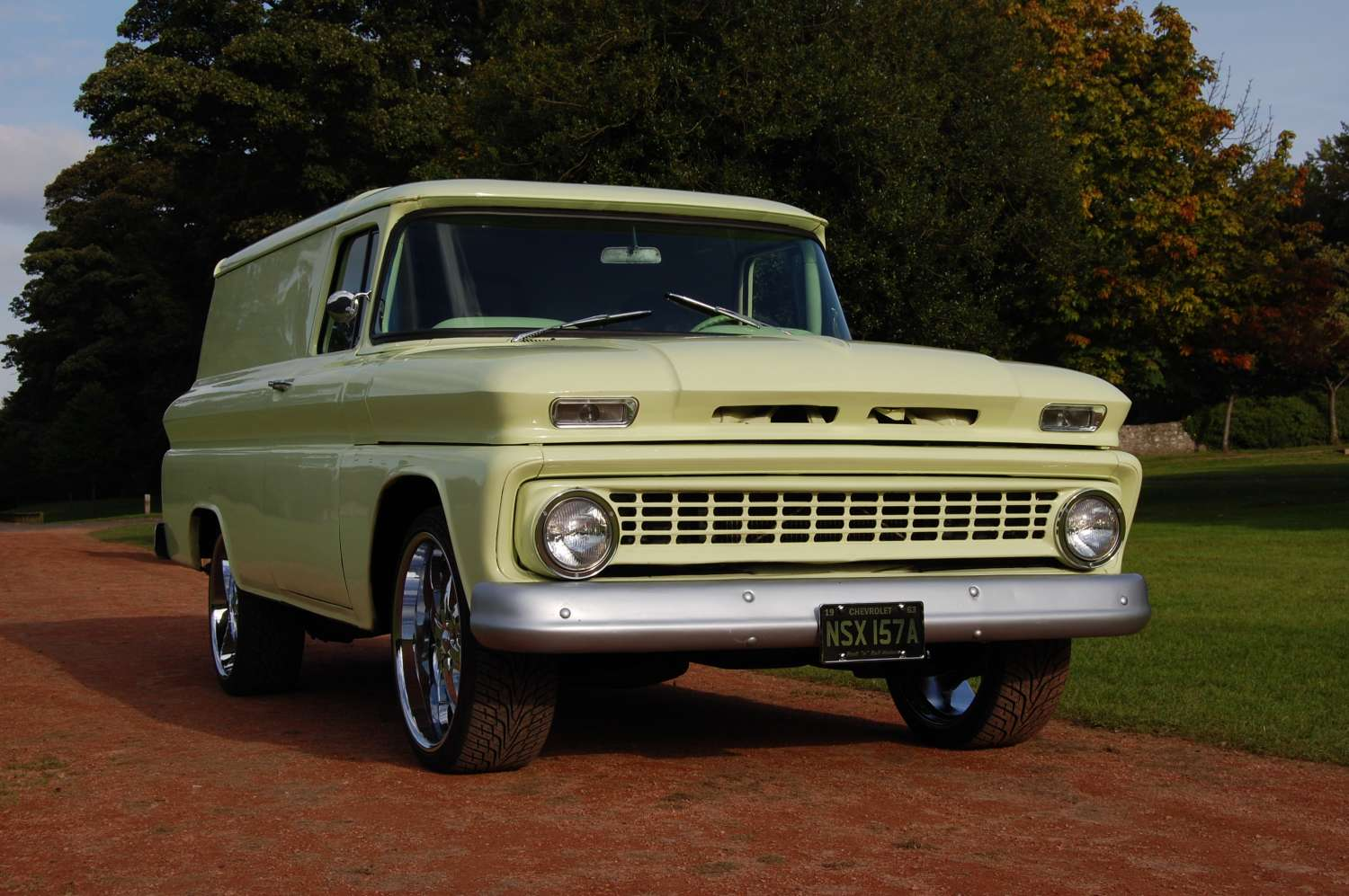 Truck 1963 chevy panel truck for sale : 1963 Chevrolet Chevy C-10 panel van truck for sale